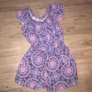 Faded Glory Floral Romper